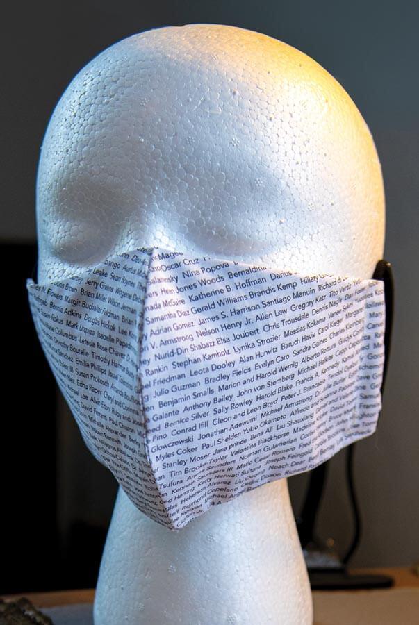 Facemask art