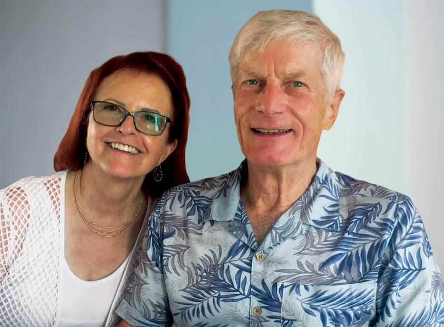 Susan Foisy McKenney and Peter McKenney