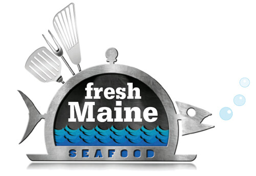 Metal fish graphic
