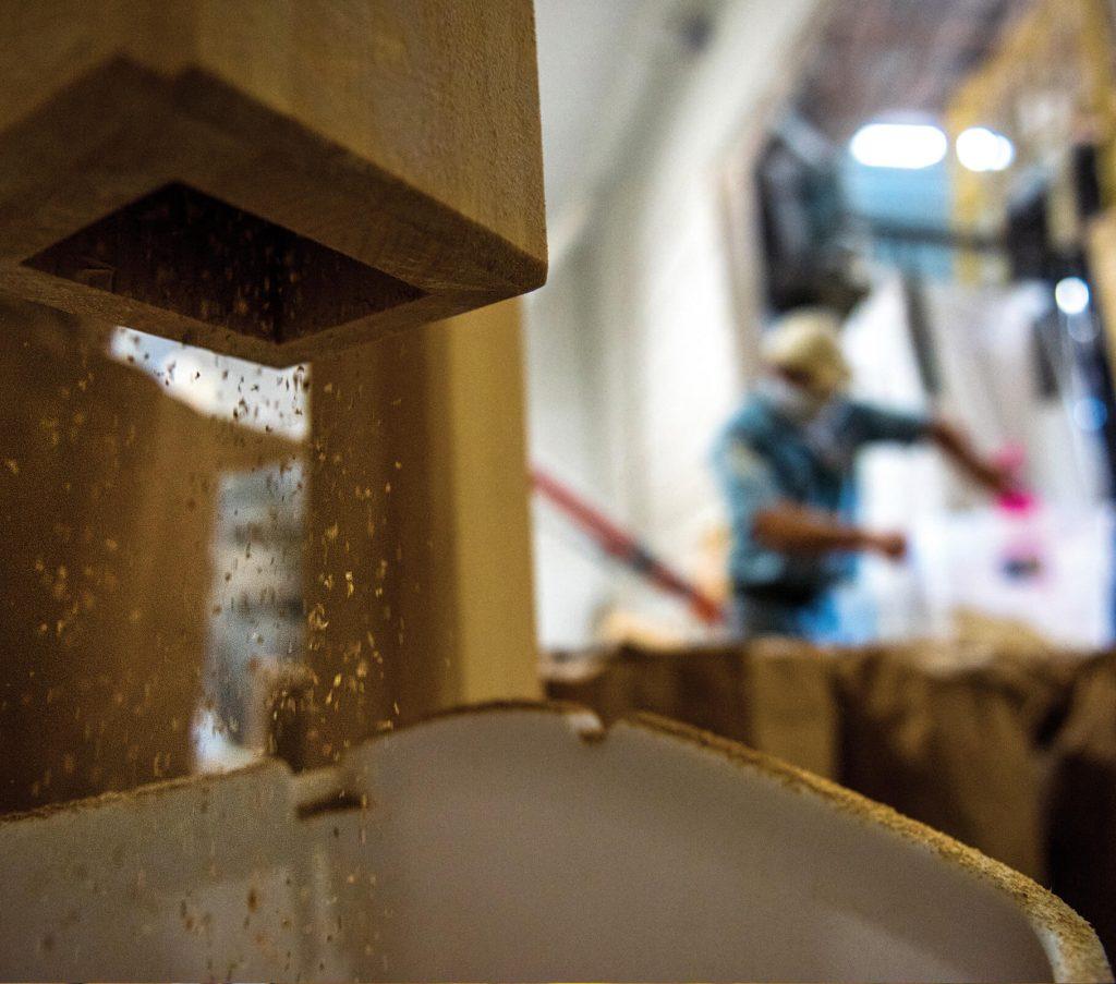 Milling grain