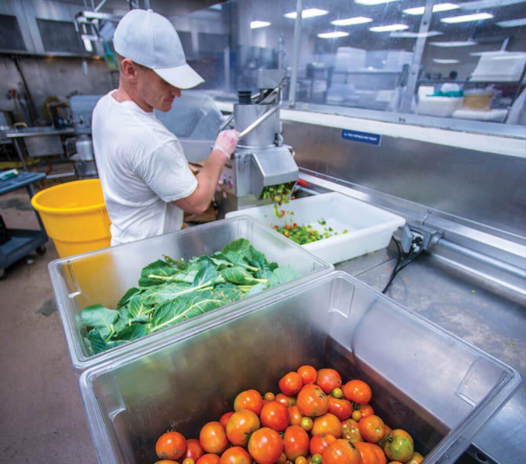 Preparing produce