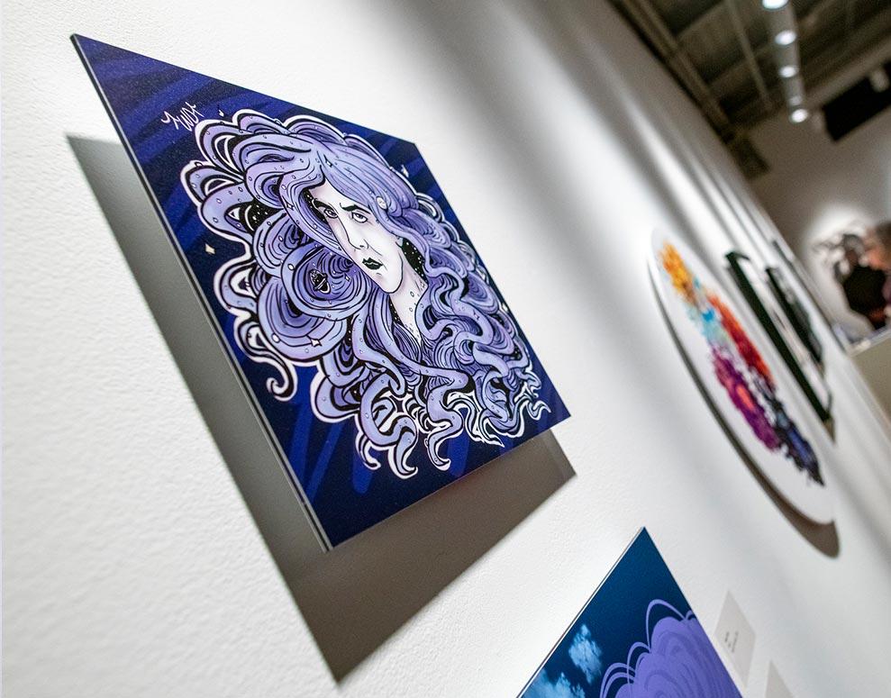 Purple Art