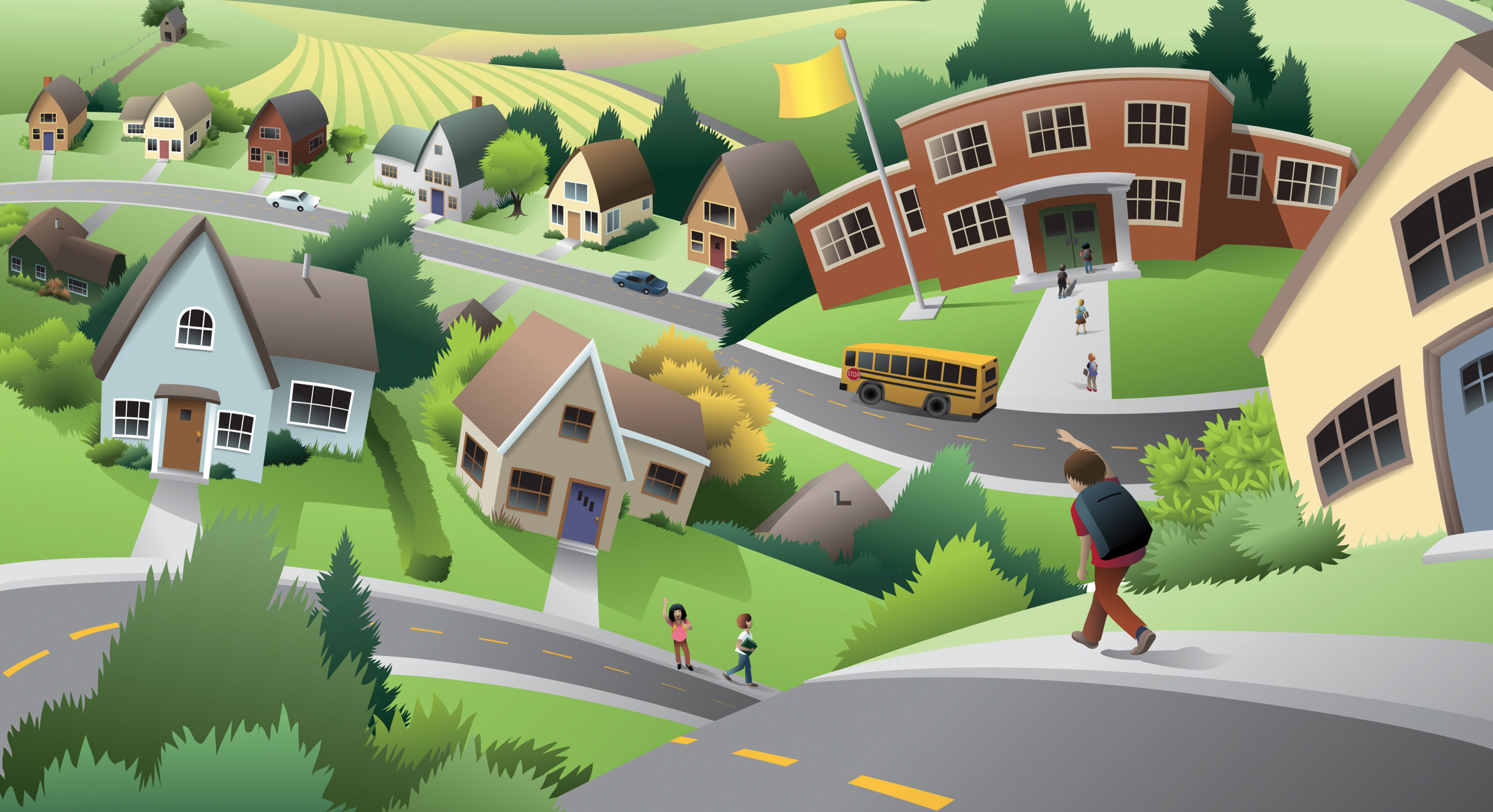 School-and-community-illustration-1