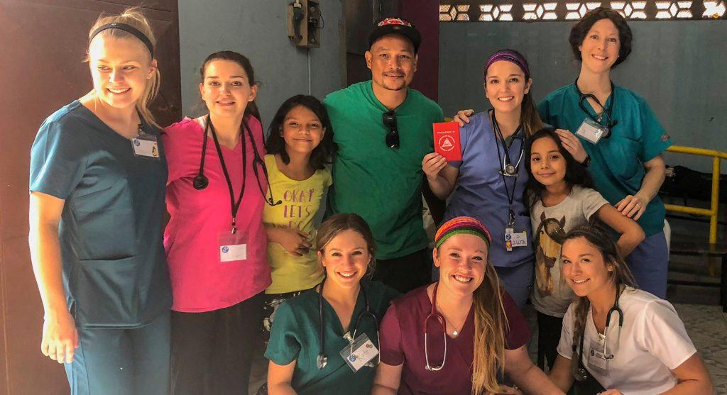 Nursing group photo