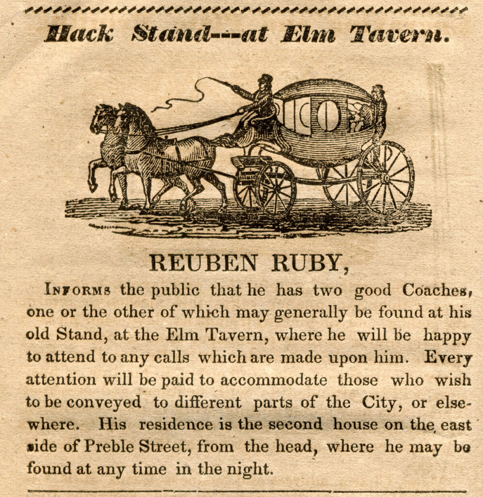 Reuben Ruby ad