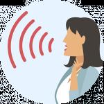 Voice illustration