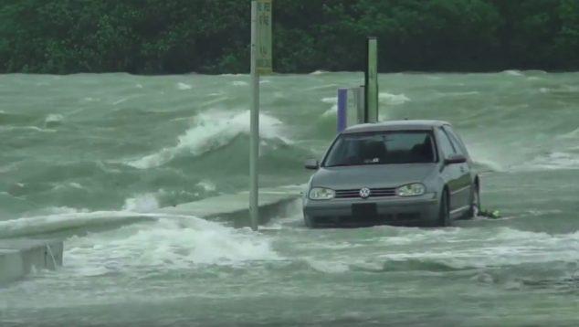 Coastal flooding in Maine