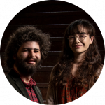 Kimberly Crowley and Nicholas Rotterweller Portraits, Humanities Center Fellowship