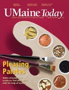 UMaine Today January February 2007 cover