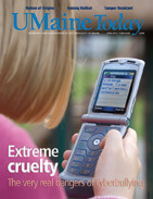 UMaine Today January February 2008 cover