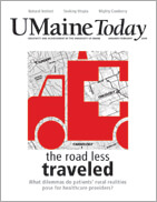 UMaine Today January/February 2009 cover