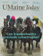 UMaine Today July August 2007 cover