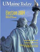 UMaine Today May June 2004 cover
