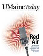 UMaine Today November December 2005 cover