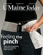 UMaine Today November December 2008 cover