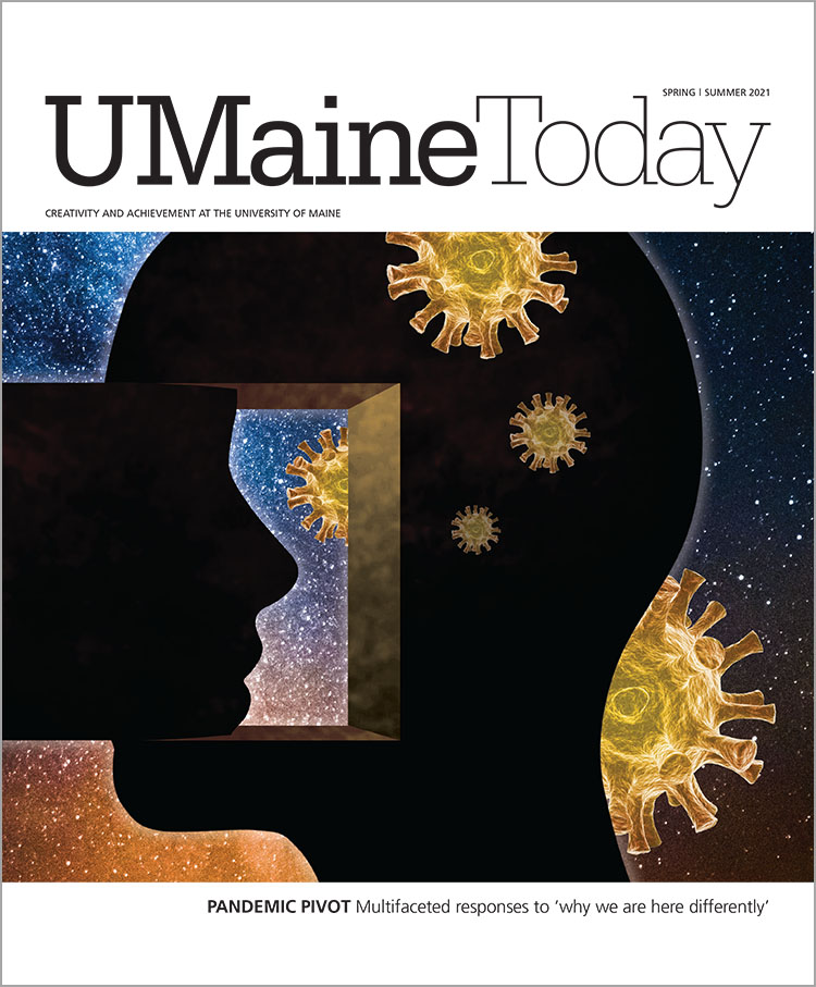 UMaine Today Spring/Summer 2021 cover